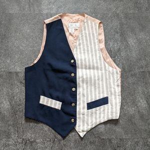 Vintage Tristan & Iseut patchwork vest